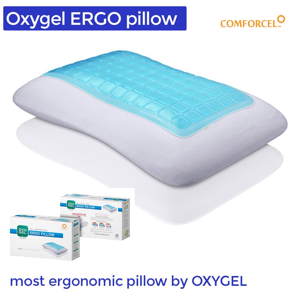 Oxygel Ergo Pillow (Gel and Memory)